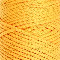 Osttex СМЛ-40115-4-СМЛ0002862190 Шнур для вязания без сердечника 100% полиэфир, ширина 3мм 100м/210гр, (96 сиреневый) жёлтый