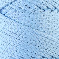 Osttex СМЛ-40115-5-СМЛ0002862192 Шнур для вязания без сердечника 100% полиэфир, ширина 3мм 100м/210гр, (96 сиреневый) голубой