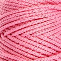 Osttex СМЛ-40115-7-СМЛ0002862177 Шнур для вязания без сердечника 100% полиэфир, ширина 3мм 100м/210гр, (96 сиреневый) розовый