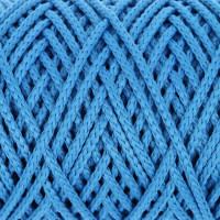 Osttex СМЛ-40115-8-СМЛ0002862191 Шнур для вязания без сердечника 100% полиэфир, ширина 3мм 100м/210гр, (96 сиреневый) синий