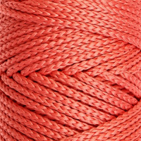 Osttex СМЛ-40115-9-СМЛ0002862175 Шнур для вязания без сердечника 100% полиэфир, ширина 3мм 100м/210гр, (96 сиреневый) розовый