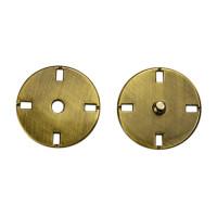 Прочие ССФ-1533-11-ССФ0017586292 Кнопка пришивная металл, 21 мм, уп. 5шт. тертый антик