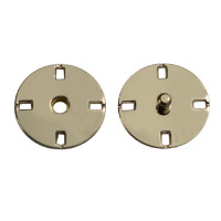Прочие ССФ-1533-15-ССФ0017586296 Кнопка пришивная металл, 21 мм, уп. 5шт. никель