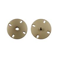 Прочие ССФ-1533-21-ССФ0017655652 Кнопка пришивная металл, 21 мм, уп. 5шт. матовый никель