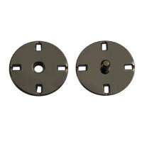 Прочие ССФ-1533-22-ССФ0017655653 Кнопка пришивная металл, 21 мм, уп. 5шт. оксид