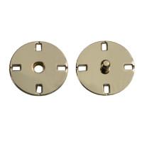 Прочие ССФ-1533-3-ССФ0017586284 Кнопка пришивная металл, 21 мм, уп. 5шт. никель