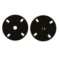 Прочие ССФ-1533-6-ССФ0017586287 Кнопка пришивная металл, 21 мм, уп. 5шт. черный