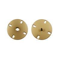 Прочие ССФ-1533-8-ССФ0017586289 Кнопка пришивная металл, 21 мм, уп. 5шт. матовое золото
