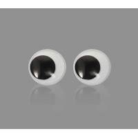 Прочие ТГЛ-17-1-14248 Глазки д.2,4 см черно-белый 20 шт.