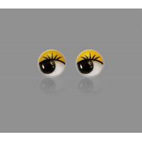 Прочие ТГЛ-9-1-14246.005 Глазки д.1 см желтый 50шт.