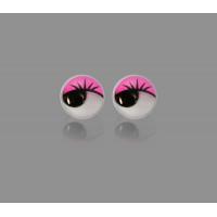 Прочие ТГЛ-9-3-14246.003 Глазки д.1 см розовый 50шт.