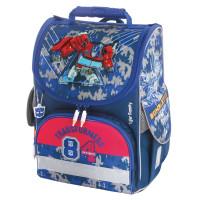 "TIGER FAMILY TGNQ-040A Ранец TIGER FAMILY для начальной школы, Nature Quest, ""Optimus Prime"", ЛИЦЕНЗИЯ, 35х31х19 см, 228971, TGNQ-040A"