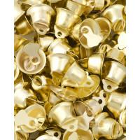 Прочие ТКЛ-13-1-33916.001 Колокольчики д.1,4 см золотистый 10 шт.