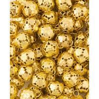 Прочие ТКЛ-19-1-33903.001 Бубенцы д.1,2 см золотистый 10 шт.