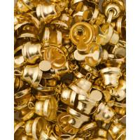 Прочие ТКЛ-20-1-33931.001 Колокольчики д.0,8 см золотистый 10 шт.