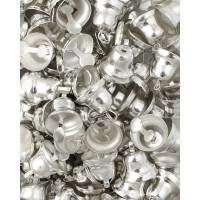 Прочие ТКЛ-20-2-33931.002 Колокольчики д.0,8 см серебристый 10 шт.