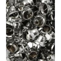 Прочие ТКЛ-20-3-33931.003 Колокольчики д.0,8 см никель 10 шт.