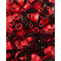 Прочие ТКЛ-29-1-33911.001 Колокольчики д.1,8 см красный 10 шт.