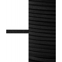 Прочие ТШН-11-10-5000.001 Шнур  замшевый ш.0,3 см черный 1 м