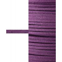 Прочие ТШН-11-15-5000.006 Шнур  замшевый ш.0,3 см фиолетовый 1 м