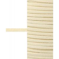 Прочие ТШН-11-2-5000.019 Шнур  замшевый ш.0,3 см желтый 1 м