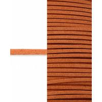 Прочие ТШН-11-22-5000.024 Шнур  замшевый ш.0,3 см оранжевый 1 м