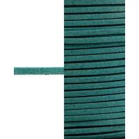 Прочие ТШН-11-28-5000.029 Шнур  замшевый ш.0,3 см бирюзовый 1 м