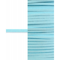 Прочие ТШН-11-29-5000.016 Шнур  замшевый ш.0,3 см голубой 1 м