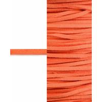 Прочие ТШН-11-35-5000.034 Шнур  замшевый ш.0,3 см оранжевый 1 м
