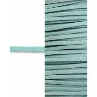 Прочие ТШН-11-37-5000.030 Шнур  замшевый ш.0,3 см голубой 1 м