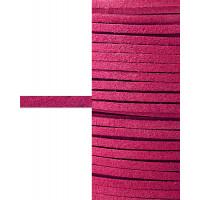 Прочие ТШН-11-9-5000.007 Шнур  замшевый ш.0,3 см розовый 1 м