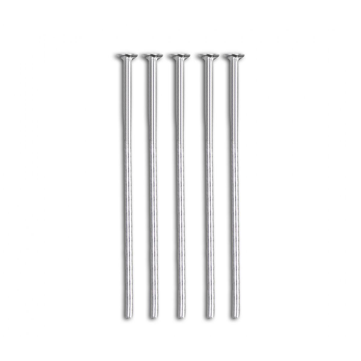 Штифт дл.5 см серебристый 100шт. (арт. ТШТ-4-1-11337)