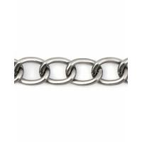 Прочие ЦМ-14-3-32736.002 Цепь ш.1,9 см (металл) темный никель 1 метр