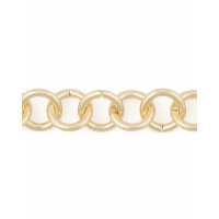 Прочие ЦМ-5-1-30313.001 Цепь ш.1,6 см (металл) золотистый 1 метр