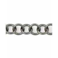 Прочие ЦМ-5-2-30313.002 Цепь ш.1,6 см (металл) темный никель 1 метр