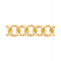 Прочие ЦМ-5-4-30313.004 Цепь ш.1,6 см (металл) золотистый 1 метр