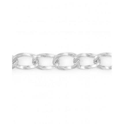 Цепь ш.1 см (металл) никель 1 м (арт. ЦМ-9-2-30316.002)