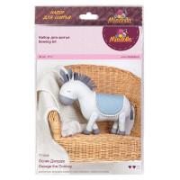 """Miadolla TT-0245 Набор для изготовления игрушки """"Miadolla"""" TT-0245 Ослик Джордж ."""