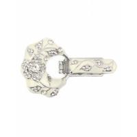 Прочие ЗДШ-10-4-30998.001 Застежка для шубы р.5x7,5 см молочный