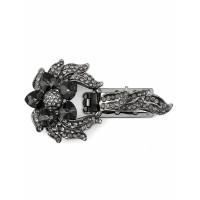Прочие ЗДШ-24-1-33638 Застежка для шубы р.4,3х7,7 см темный никель