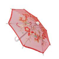 Прочие Зонтик Зонтик 22см красный (AR299)