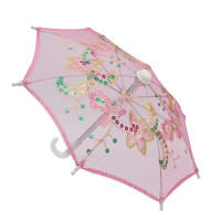 Прочие Зонтик Зонтик 22см розовый (AR299)