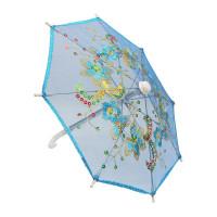Прочие Зонтик Зонтик 22см синий  (AR299)