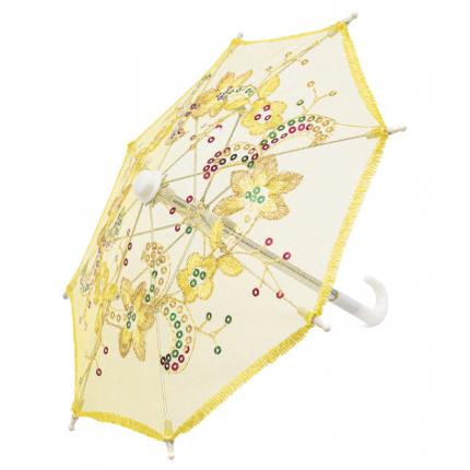 Зонтик гипюровый 22см. желтый AR1626 (арт. Зонтик)