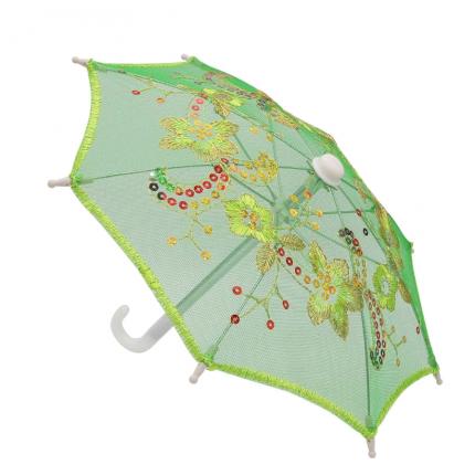 Зонтик 22см зеленый (AR299) (арт. Зонтик)