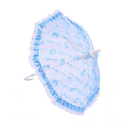 Зонтик голубой 26*25см. AR760 (арт. Зонтик голубой)
