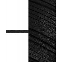 Прочие ЗШД-2-1-38962.001 Шнур замшевый с глиттером ш.0,3 см черный 100 см