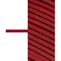 Прочие ЗШД-2-2-38962.002 Шнур замшевый с глиттером ш.0,3 см красный 100 см