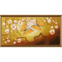 "Нова Слобода №01 Набор для вышивания ""Нова Слобода"" ДК №01 3015 ""Порхающие бабочки"" 41х20 см 41 х 20 см"