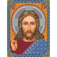 """Нова Слобода №06 Набор для вышивания """"Нова Слобода"""" С №06 9001 Христос Спаситель 18 х 24 см"""